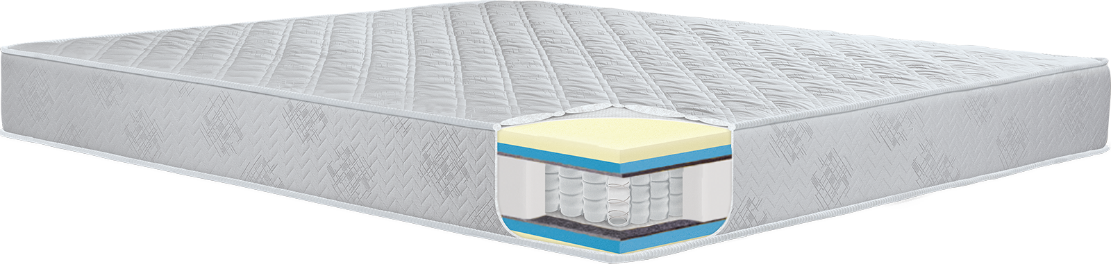 pocket springs boat mattress visco foam memory