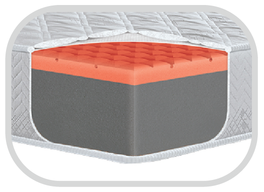 boat mattress foam comfort visco memory